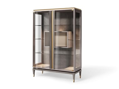 Lacquered display cabinet KIMPTON