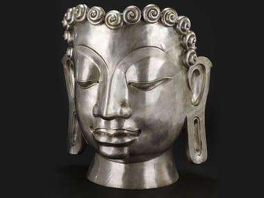 Bronze sculpture BUDDHA MASK