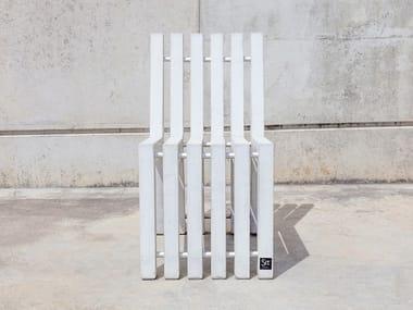 Fiber-reinforced concrete outdoor chair MASTERLAYER | Outdoor chair