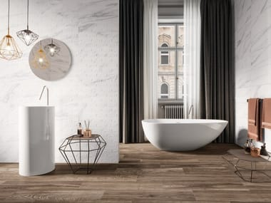 Indoor wall tiles with marble effect MASTERY