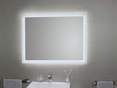 Bathroom mirror with integrated lighting MATE4 LED