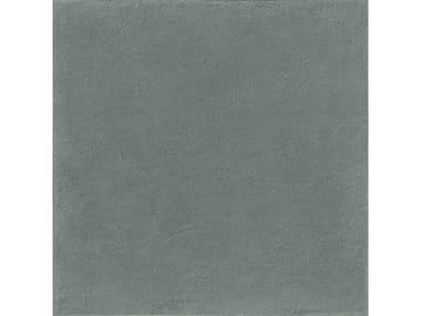 Pavimento per esterni in gres porcellanato effetto cemento effetto cotto MATERIAL 20 | Dark Grey