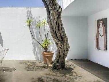 Pavimento per esterni in gres porcellanato effetto cemento effetto cotto MATERIAL 20 | Greige