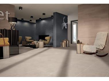 Pavimento/rivestimento in gres porcellanato effetto pietra MATRIX GREY