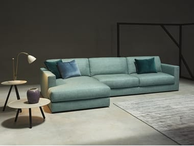 Sectional sofa with chaise longue MATRIX | Sofa with chaise longue