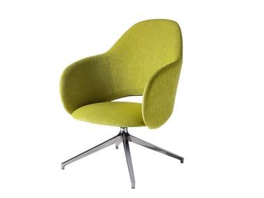 Swivel armchair MAUI LOUNGE PLUS | Swivel armchair