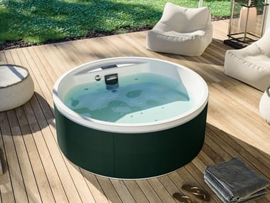 Hydromassage hot tub 2-seats MAWI SPA 166 | Above-ground hot tub