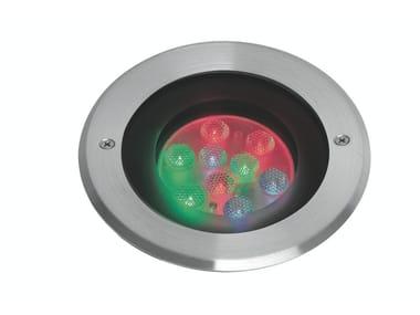 Proiettore per esterno a LED in acciaio inox con sistema RGB MAXIEGO F.907