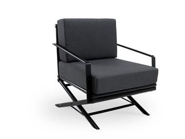 Batyline® garden armchair with armrests MAXIM PLUS | Garden armchair