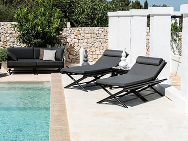 Batyline® sun lounger MAXIM PLUS | Sun lounger