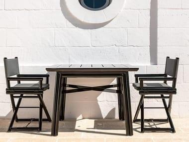 Square wooden garden table MAXIM PLUS | Square table