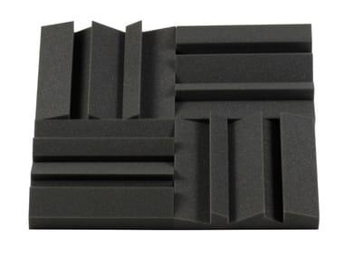 Polyurethane foam decorative acoustical panel MD55