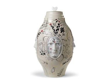 Vaso in porcellana MEDIUM CONVERSATION | Vaso