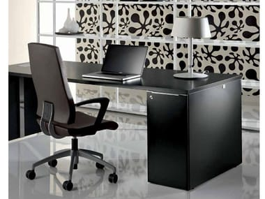 Rectangular office desk with drawers MEDLEY | Office desk with drawers