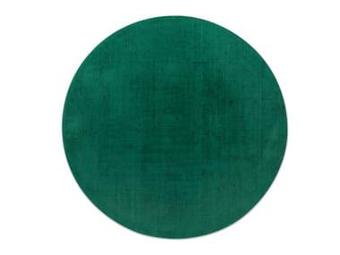 Solid-color round rug MEDLEY | Round rug