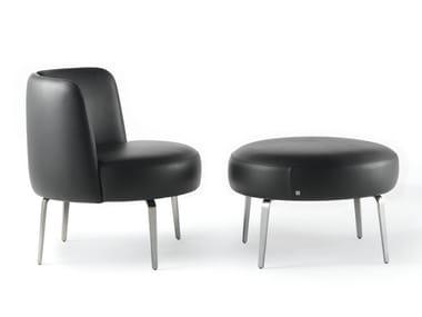 Leather easy chair MEDUSA | Leather easy chair