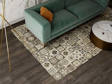 Pavimento/rivestimento in gres porcellanato effetto legno MEET DECOR