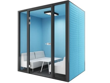 Acoustic multimedia meeting pod MEETING POD