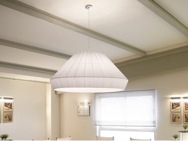 Fabric pendant lamp MEI 150