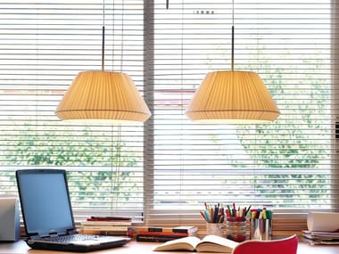 Fabric pendant lamp MEI 38