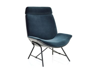Fabric Lounge Chair MELANGE HIGHBACK | Easy Chair