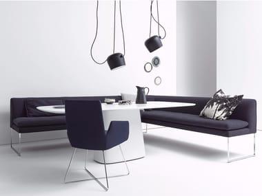 Upholstered corner bench MELL | Corner bench