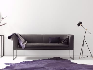 Leather bench MELL | Bench