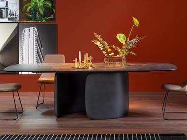 Rectangular dining table MELLOW | Table
