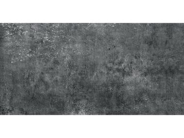 Pavimento per esterni in gres porcellanato effetto cemento MEMENTO 20 | Antracite
