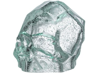 Crystal decorative object MEMENTO MORI L - LUMINOUS