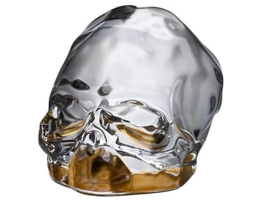Crystal decorative object MEMENTO MORI S - COATING