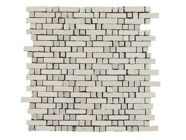 Mosaico in gres porcellanato MEMENTO | Mosaico Old White