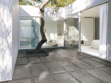 Pavimento per esterni in gres porcellanato effetto cemento MEMENTO20