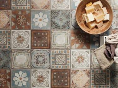 Porcelain stoneware wall/floor tiles MEMORY MOOD DECORS
