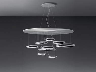 Indirect light aluminium pendant lamp MERCURY | Pendant lamp