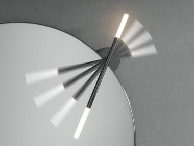 Lampada da parete a LED orientabile MERIDIA