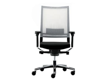 Swivel recliner mesh office chair with armrests EXPO 15 | Office chair
