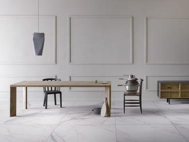 Pavimento/rivestimento in gres porcellanato effetto marmo METAFISICO - POLISHED