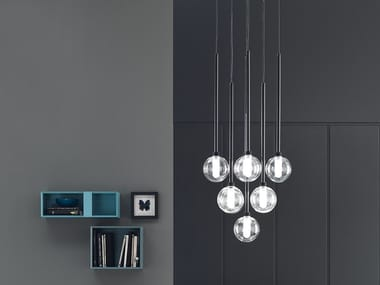 Direct light pendant lamp BRILLO | Metal pendant lamp