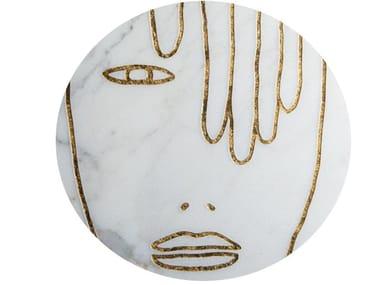 Marble dinner plate METAMORPHOSES | Plate