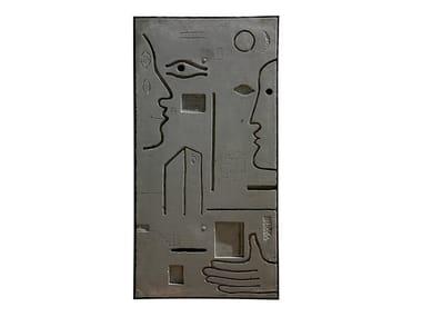 Cement sculpture METOPE III