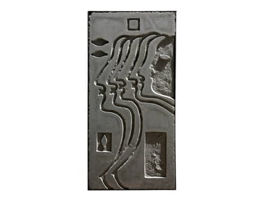 Cement sculpture METOPE V