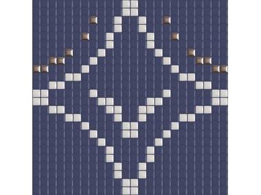 Mosaico in ceramica METRICA CERCHI 004
