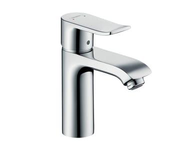 Single handle chromed brass washbasin mixer METRIS 110 | Washbasin mixer