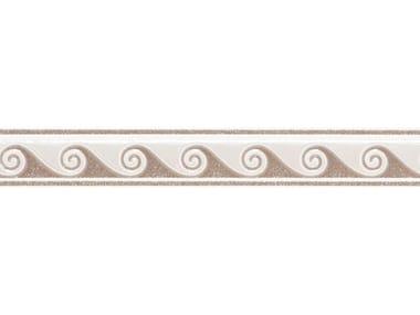 Rivestimento METROPOLIS Listello decorato Brown