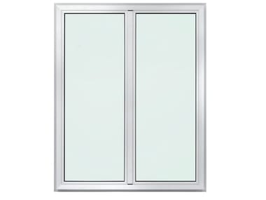 Aluminium triple glazed window METROPOLIS PLUS