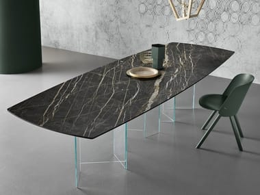 Rectangular dining table METROPOLIS | Table