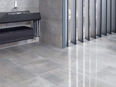 Wall/floor tiles with metal effect METROPOLITAN ANTRACITA