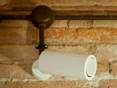 LED adjustable metal spotlight METZER C1 | Wall-mounted spotlight