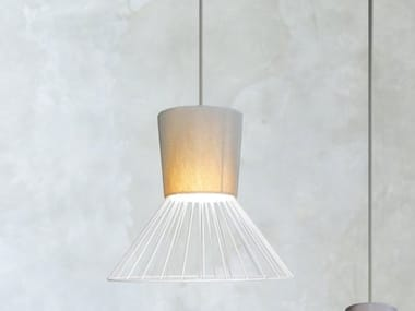 Fabric pendant lamp MEXICAN 310